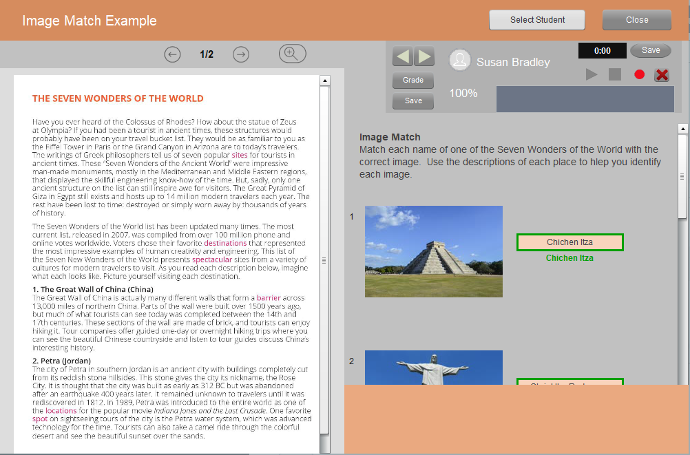 Image Match Example